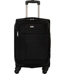 maleta de viaje pequeña en lona con cuatro ruedas giratorias 94869