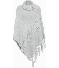 poncho (grigio) - bpc bonprix collection