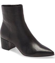 women's dolce vita bel bootie, size 8.5 m - black
