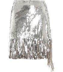 pinko ratatouille skirt paillettes