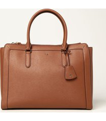 lauren ralph lauren tote bags lauren ralph lauren shopping bag in saffiano leather
