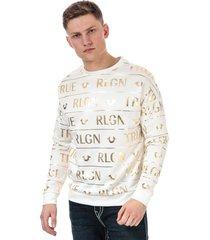 mens all over print sweatshirt