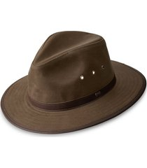 orvis oilcloth hat