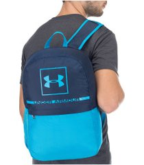 mochila under armour project 5 - azul esc/azul cla