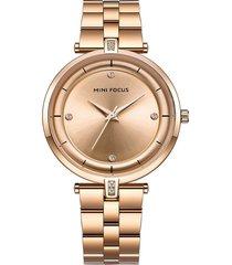 reloj análogo f0120l-1 mujer dorado