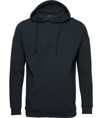 madropin hoodie trui blauw matinique