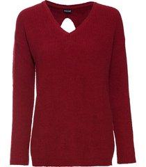 maglione con cut-out (rosso) - bodyflirt