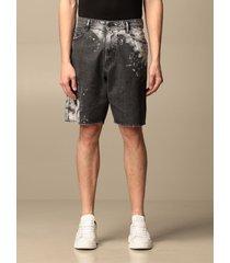 diesel short diesel denim shorts with sketches