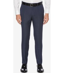 perry ellis men's portfolio skinny-fit nailshead dress pants