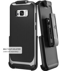 belt clip holster for spigen neo hybrid case - samsung galaxy s8 plus (s8+) by e