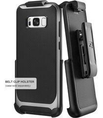 belt clip holster for spigen neo hybrid case - samsung galaxy s8 plus (s8+) by e