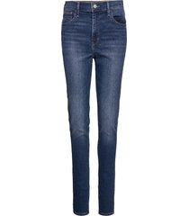 720 hirise super skinny fiery slimmade jeans blå levi´s women