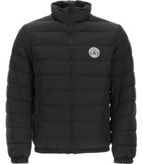 versace down jacket with medusa patch