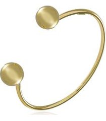 bracelete orb ouro amarelo - u