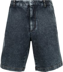 nº21 loose jean shorts - blue