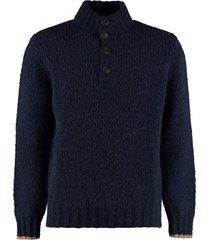 brunello cucinelli turtleneck wool pullover