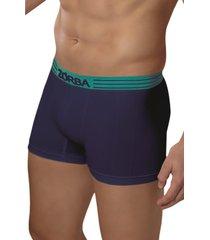 cueca boxer extreme green zorba demillus 90832 azul marinho - azul - feminino - dafiti