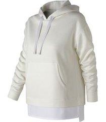 blusa de moletom new balance captivate | feminina branco