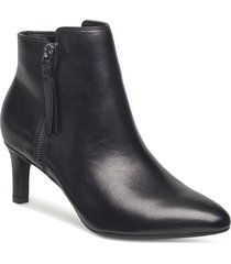 calla blossom shoes boots ankle boots ankle boot - heel svart clarks