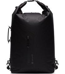 snow peak four-way utility backpack - black