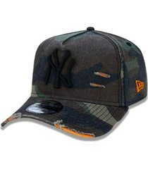 boné 940 new york yankees mlb aba curva new era