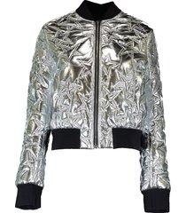 silver star bomber jacket