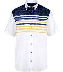 overhemd babista wit::blauw