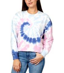rebellious one juniors' tie-dye sweatshirt