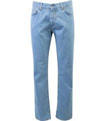 adam est 1916 5-pocket broek blauw