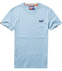 superdry t-shirt orange label vintage