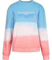 dip-dye logo sweatshirt