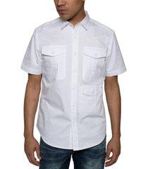 sean john men's 3-pocket flight shirt