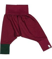 spodnie mini mini - bordo
