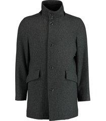 bos bright blue max coat 19301ma02bo/980 antra