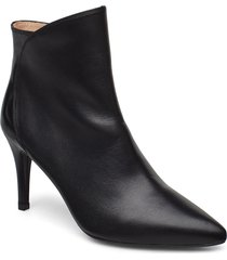 tilo_na shoes boots ankle boots ankle boots with heel svart unisa