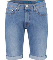 pierre cardin futureflex shorts denim lichtblauw