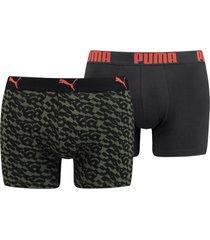 boxershorts puma logo aop boxer 2-pack