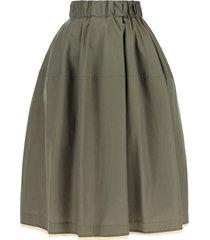 marni poplin cotton balloon skirt