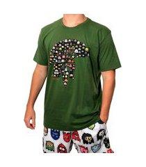 camiseta kevland pixel verde