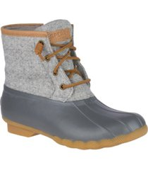 sperry women's saltwater duck booties women's shoes