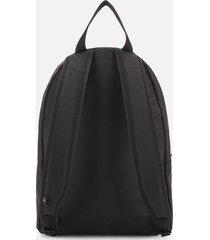 calvin klein jeans women's round nylon backpack - black
