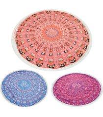 summer-beach-towels-bohemian-style-floral-tassels-blanket-yoga-mat-home-textile-