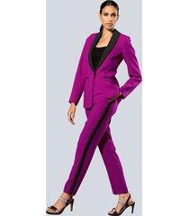 broek alba moda fuchsia