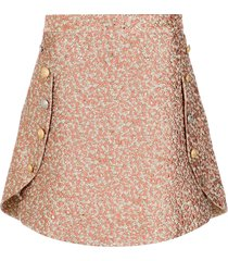 olympiah textured mini skirt - 131