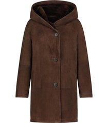 lammy coat babina  bruin