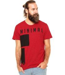 camiseta coca-cola jeans estampada vermelha - vermelho - masculino - algodã£o - dafiti