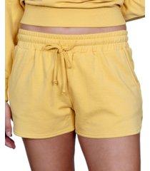 rebellious one juniors' fleece shorts