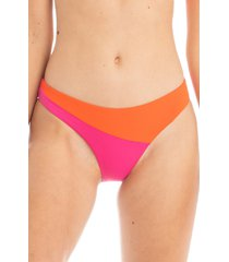 women's tavik jaclyn bikini bottoms, size large - pink