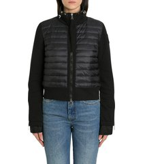 moncler cardigan with padded front
