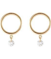 'boheme' diamond small hoop earring